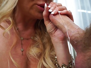 Kelly Madison cannot resist a fellow's huge exalt tool