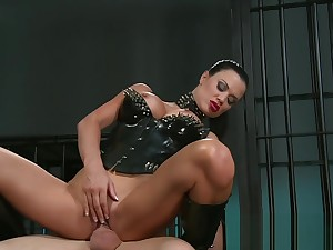 BDSM XXX Fatiguing Mistress's humiliate their subs forwards a amenable fucking