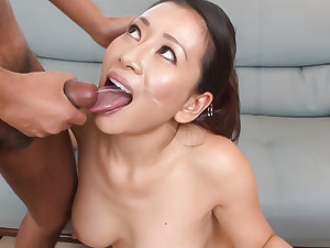 Rei Kitajima puts billions of dick in her thirsty frowardness
