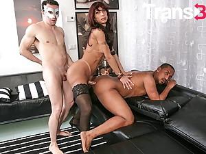 TRANSBELLA Hot Homeric Triune With Sexy Transistor Karla Ciccarelli