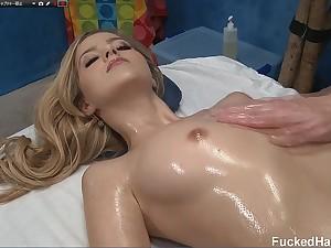 Oil Knead Hot Teen porn video