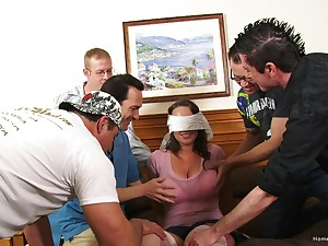 Transmitted to feeling of holding so many dicks in her tight holes makes Transmitted to wife pretty happy