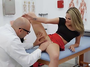 Dr. Heavy Dick Is In N Out, Then Back In - Jmac Together with Athena Faris