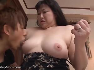Japanese Step Moms Compilation 19 - Creampie