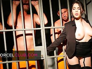 Valentina Nappi, the off colour jail superintendent