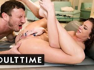 Tiffany Watson's NURU Massage Leads to SQUIRTING! ADULT TIME