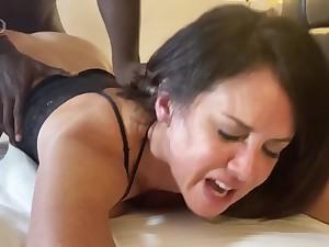 wife was trancelike while cumming atop that big black penis