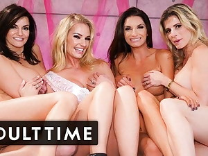 Mistake pass up Party Hosts The HOTTEST Lesbian Foursome Ever!