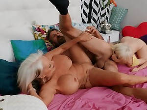 It was the right choice to have threesome with stepmother and BF