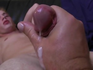 Teen dude gets his cock milked. Fun for everybody!