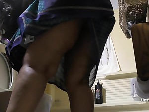 South Indian Maid Surfactant Bathroom and Showering hidden cam