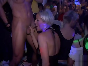 Devilish and wild orgy party