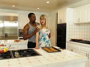 English mature housewife Jamie Kindle is rough-and-ready fucked by black stud