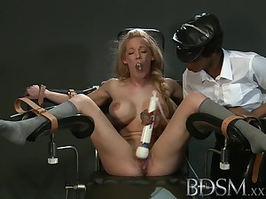 BDSM XXX Following girl with massive breasts gets it hard